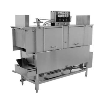 CMACMA66LRL - CMA Dishmachines - EST-66L/R-L - Low Temp 66 in Conveyor Dishwasher Product Image