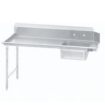 ADVDTSS6048LX - Advance Tabco - DTS-S60-48L-X - 47 in x 30 in Left-to-Right Soiled Dishtable Product Image