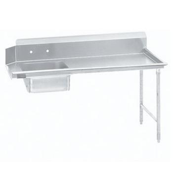 ADVDTSS6072RX - Advance Tabco - DTS-S60-72R-X - 71 in x 30 in Right-to-Left Soiled Dishtable Product Image