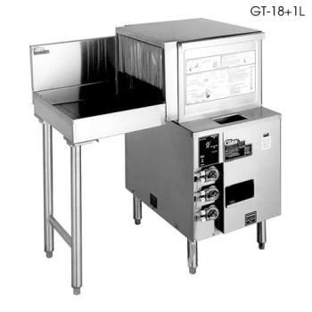 GLTGT181R - Glastender - GT-18+1R - Front-to-Side Rotary Glasswasher w/Right Drain Table Product Image