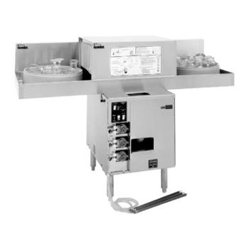 GLTGT182 - Glastender - GT-18+2 - Side-to-Side Rotary Glasswasher w/2 Drain Tables Product Image