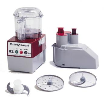 95434 - Robot Coupe - R2N CLR - Commercial Food Processor w/ 3 Qt Bowl & Continuous Feed Product Image