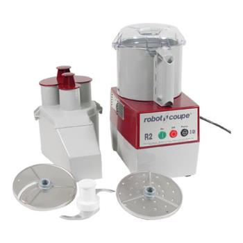 95120 - Robot Coupe - R2N - Commercial Food Processor w/ 3 Qt Gray Bowl & Continuous Feed Product Image