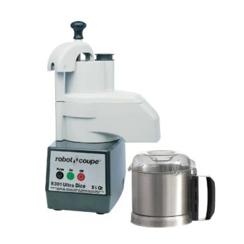 ROBR301DICEULTRA - Robot Coupe - R301 ULTRA DICE - Commercial Food Processor w/ 3.5 Qt Bowl Product Image