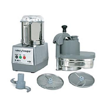 ROBR401 - Robot Coupe - R401 - Commercial Food Processor w/ 4 Qt Bowl & Continous Feed Product Image