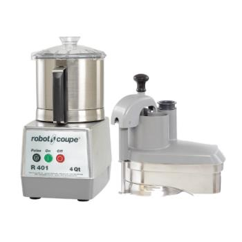 ROBR401 - Robot Coupe - R401 - Commercial Food Processor w/ 4 Qt Bowl & Continuous Feed Product Image