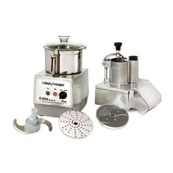 ROBR502 - Robot Coupe - R502 - Commercial Food Processor w/ 5.5 Qt Bowl & Continuous Feed Product Image