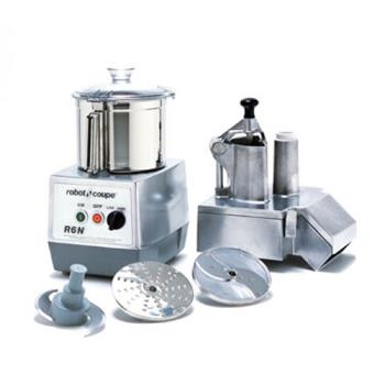 ROBR6N - Robot Coupe - R602 - Commercial Food Processor w/ 7 Qt Bowl & Continuous Feed Product Image