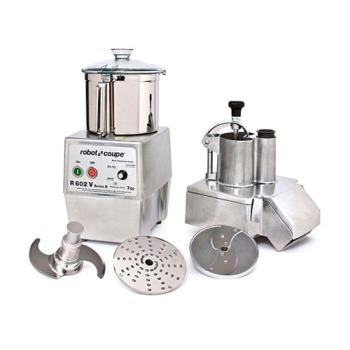 ROBR6VN - Robot Coupe - R602V - Commercial Food Processor w/ 7 Qt Bowl & Continuous Feed Product Image