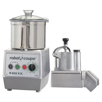 ROBR602VV - Robot Coupe - R602VV - 7 qt 3 HP Continuous Feed Food Processor Product Image