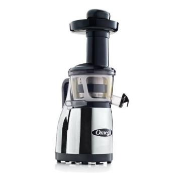 OMJVRT380HDC - Omega - VRT380HDC - Chrome Heavy Duty Vertical Juicer Product Image