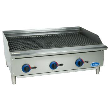 GLOC36CBSR - Globe - C36CB-SR - 36 in Chefmate™ Gas Charbroiler Product Image