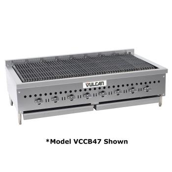 VULVCCB25 - Vulcan - VCCB25 - 25 in Countertop Charbroiler w/ 4 Burners Product Image