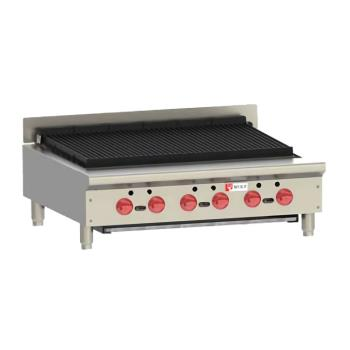 WLFACB36 - Wolf - ACB36 - 36 in Countertop Charbroiler w/ 6 Burners Product Image