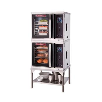BLOCTBXCELDOUBLE - Blodgett - CTB Xcel Double - Electric Half Size Double Deck Convection Oven Product Image
