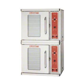 BLOCTBRDOUBLE - Blodgett - CTBR Double - Electric Half Size Double Deck Convection Oven - RH Hinge Product Image
