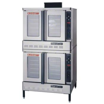 BLODFG100DOUBLE - Blodgett - DFG-100 Double - Double Deck Standard Depth Gas Convection Oven Product Image