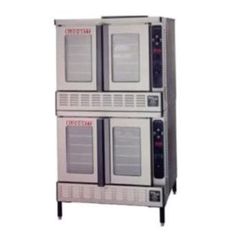 BLODFG200DOUBLE - Blodgett - DFG-200 Double - Gas Double Deck Bakery Depth Convection Oven Product Image