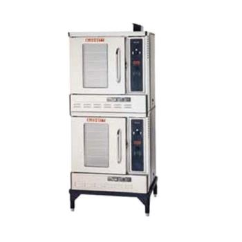 BLODFG50DOUBLE - Blodgett - DFG-50 Double - Half Size Double Deck Gas Convection Oven Product Image