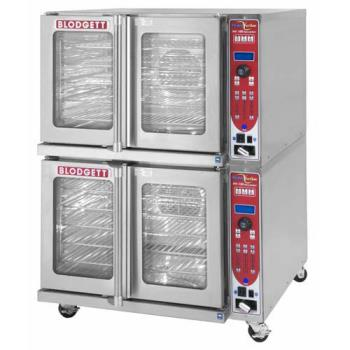 BLOHV100EDOUBLE - Blodgett - HV-100E Double - HydroVection Electric Full Size Double Stack Oven Product Image