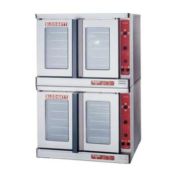 BLOMARKVDOUBLE - Blodgett - Mark V-100 Double - 3/4 HP Electric Double Deck Standard Depth Convection Oven Product Image
