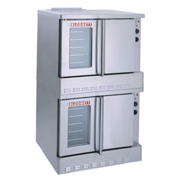 BLOSHOGDOUBLE - Blodgett - SHO-100-G Double - Gas Double Deck Standard Depth Convection Oven Product Image
