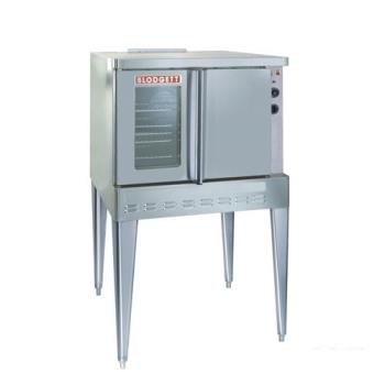 BLOSHOGSINGLE - Blodgett - SHO-100-G Single - 1/3 HP Gas Single Deck Standard Depth Convection Oven Product Image