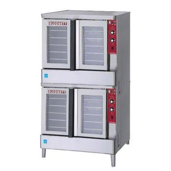 BLOZEPHGPLUSDBL - Blodgett - Zephaire-200-G Double - Zephaire Gas Double Deck Bakery Depth Convection Oven Product Image