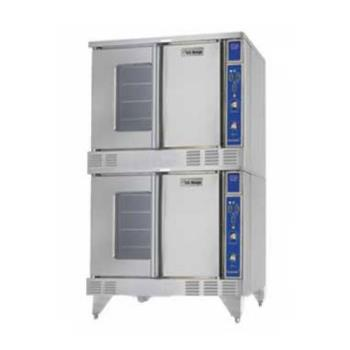 GARSUMG200 - Garland - SUMG-200 - Summit Double Deck Gas Convection Oven Product Image