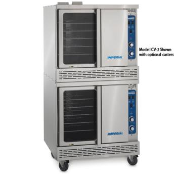 IMPICVD2 - Imperial - ICVD-2 - Double Bakery Depth Convection Oven Product Image