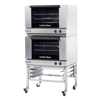 MOFE27M3P2C - Moffat - E27M3-P/2C - 208V Double 3-Full-Pan Convection Oven w/ Casters Product Image