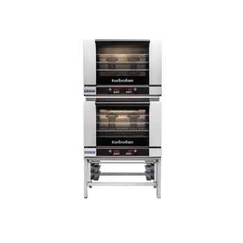 MOFE28D4T2 - Moffat - E28D4-T/2 - 220V Double 4-Full-Pan Convection Oven Product Image