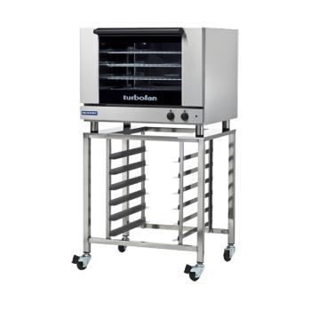 MOFE28M4TSK2731U - Moffat - E28M4-T/SK2731U - 220V 4-Full-Pan Convection Oven w/ Stand Product Image