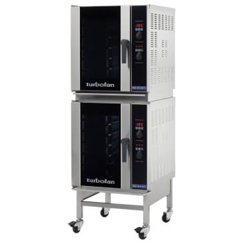MOFE33D5T2C - Moffat - E33D5-T/2C - 220V Double (5)-1/2-Pan Convection Oven w/ Casters Product Image
