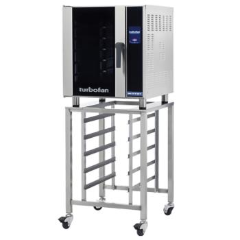 MOFE33T5PSK33 - Moffat - E33T5-P/SK33 - 208V (5)-1/2-Pan Convection Oven w/ Stand Product Image