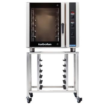 MOFE35D626P3SK35 - Moffat - E35D6-26-P-3/SK35 - 208V/3-PH 6-Full-Pan Convection Oven w/ Stand Product Image