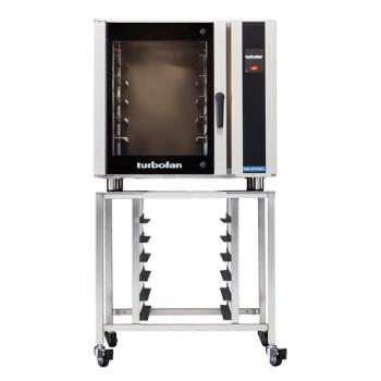 MOFE35T626P1SK35 - Moffat - E35T6-26-P-1/SK35 - 208V/1-PH 6-Full-Pan Convection Oven w/ Stand Product Image