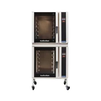 MOFE35T626T12C - Moffat - E35T6-26-T-1/2C - 220V/1ph Double 6-Full-Pan Convection Oven w/ Casters Product Image