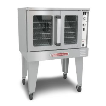 SOUSLGB12CCH - Southbend - SLGB/12CCH - Silver Star Single Bakery Depth Gas Convection Oven with Cook & Hold Control Product Image