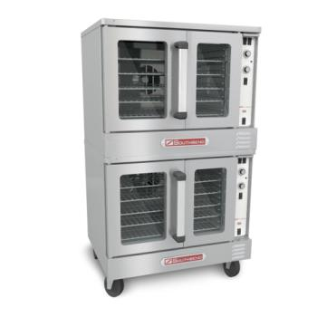 SOUSLGS22CCH - Southbend - SLGS/22CCH - Silver Star Double Gas Convection Oven with Cook & Hold Control Product Image