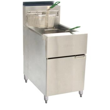 DEASR62G - Dean - SR162G - Super Runner 75 Lb Commercial Gas Fryer Product Image