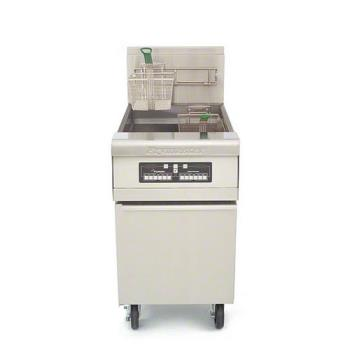 FRYMJCFSD - Frymaster - MJ1CF - 80 lb Stainless and Enamel Gas Fryer Product Image