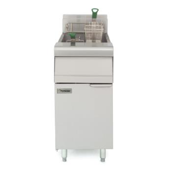 FRYMJ35SD - Frymaster - MJ35-SD - 40 lb Stainless and Enamel Gas Fryer Product Image