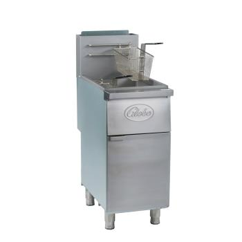 GLOGFF50G - Globe - GFF50G - 50 lb Natural Gas Fryer Product Image
