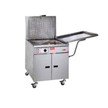 PIT34FFM - Pitco - 34FFM - 210 Lb Gas Chicken/Fish Fryer w/ Submerger & Drainboard Product Image