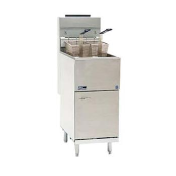 95283 - Pitco - 35C+S - Frialator 40 Lb Commercial Gas Fryer Product Image