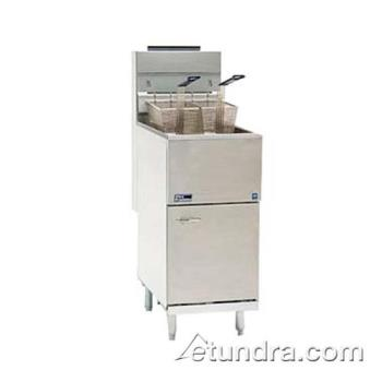 PIT35CSS - Pitco - 35C+SS - Stainless Steel Economy 40 Lb Gas Fryer Product Image