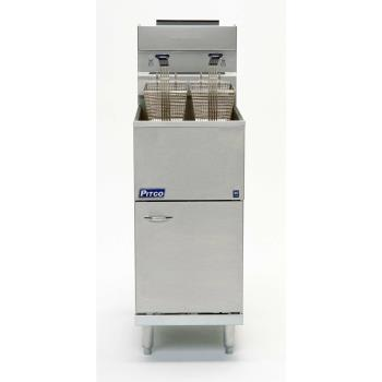 PIT45CSS - Pitco - 45C+SS - Stainless Steel Economy 50 Lb Gas Fryer Product Image