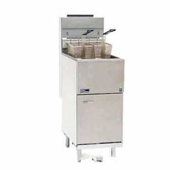 PIT65CS - Pitco - 65C+S - Economy 80 Lb Gas Fryer Product Image