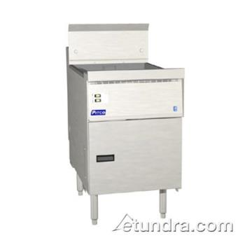 PITFBG18SSTC - Pitco - FBG18SSTC - 65 Lb Flat Bottom Fryer w/ Solid State Controller Product Image